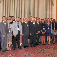 Visit to H.E.  President of the Hellenic Republic on 27.08.2015